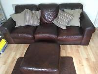 Free sofa and foot rest