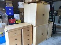 Chest of drawers / cupboards / shelves / modular racking system ikea