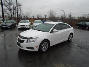 2014 Chevrolet Cruze RATES AS LOW AS 3.69% OAC BE APPROVED TODAY