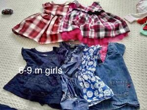 Girls 3-6 month clothing