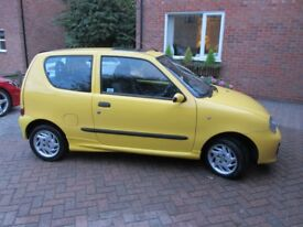 Fiat Seicento 1.1 Sporting 3dr - Yellow