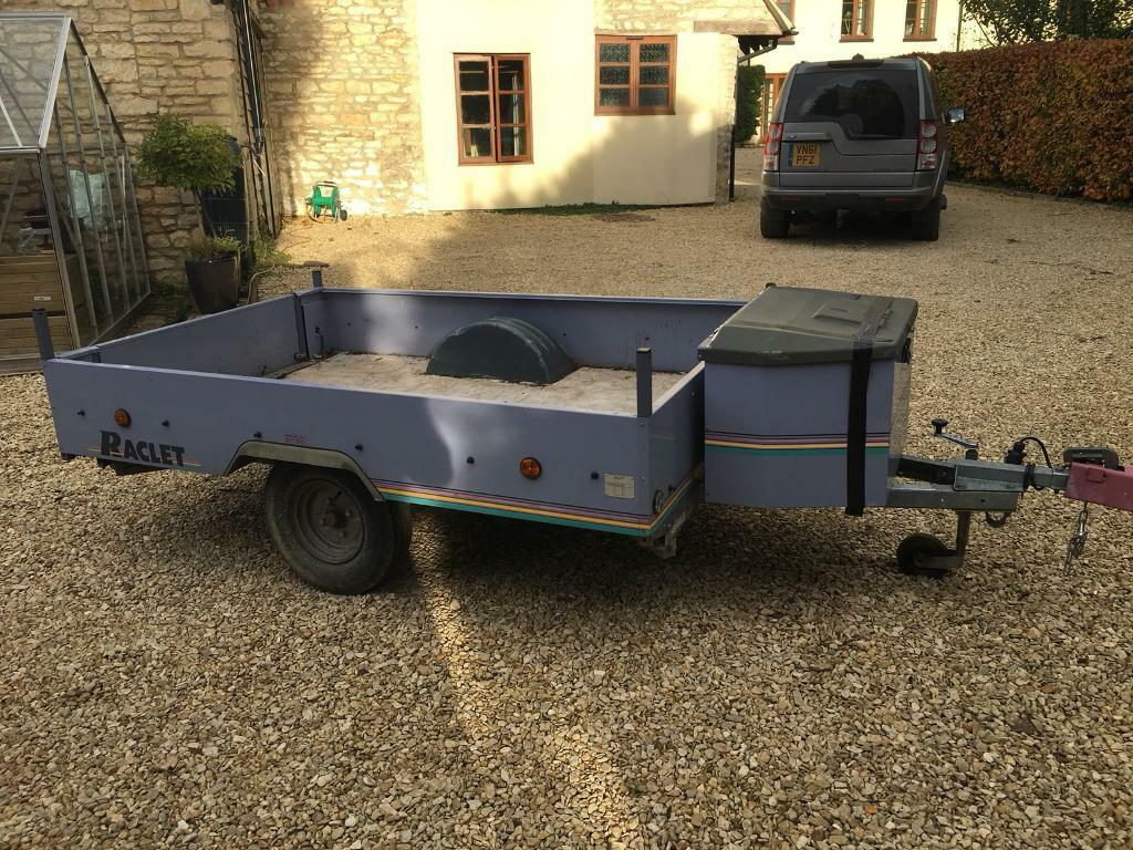 Trailer 1.4x2.1metre, hitch lock included REDUCED