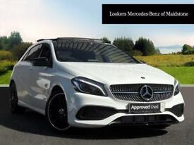 Mercedes-Benz A Class A 200 D AMG LINE PREMIUM PLUS (white) 2017-09-01