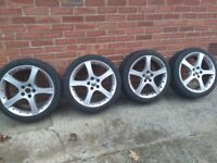Jaguar X type wheels and tyres