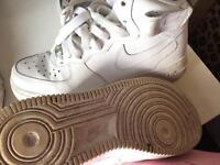 Nike Air Force trainers white