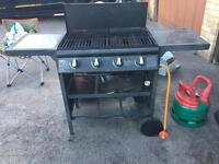 Large Gas BBQ with Calor Gas Bottle