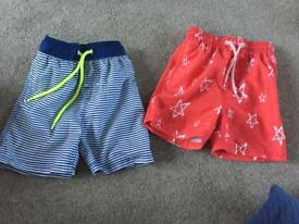Boys swim shorts from Next age 1.5-2