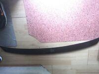 Audi b7 b6 S4 door blades sline boot spoiler