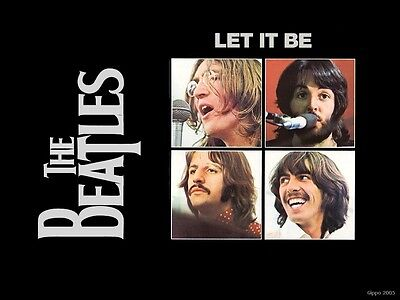 Let It Be   The Beatles  1970  Dvd Music Their Last Movie