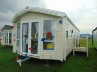 Luxury Caravan Sited on North Wales Beachside Location !!