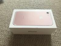 iPhone 7 box only (Rose Gold)
