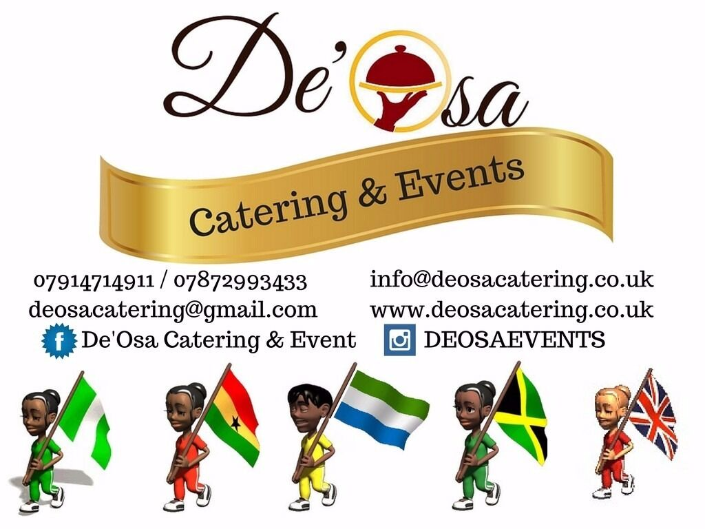 London African Caribbean Event Catering Service Weddings Venues