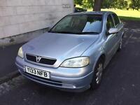 Vauxhall Astra 1.6 Petrol 5Dr 2001 Short MOT