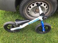 Kids balance bike works well only £12 bargain