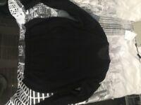 mens CK sweater L black