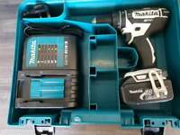MAKITA DHP482 Combi drill ,LXT, 3ah battery,charger,case, ___________________________DeWALT