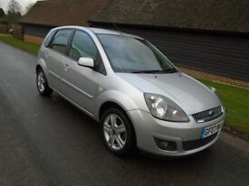 Ford Fiesta Zetec automatic with ONLY 16K miles!