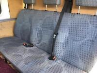 Ford Transit crew cab seats