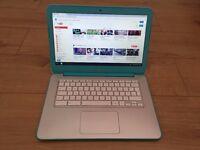 "HP Chromebook Blue 14"" 16GB HDD 2GB RAM Nvidia Tegra K1 2.3GHz Netbook Laptop"