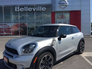 2014 MINI Cooper Paceman S 1 OWNER LOCAL TRADE