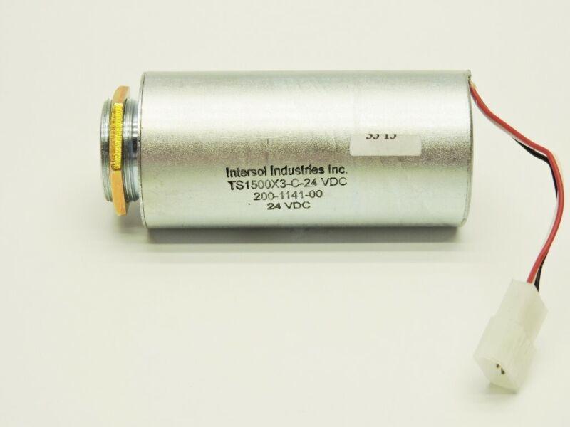 Intersol Industries 24v Tubular Solenoid Housing Electromagnet NEW
