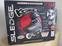 Inline Skates, Kobe Aggressive Sledge, Size 8