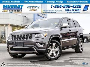 2015 Jeep Grand Cherokee 4WD 4dr Limited *Leather Seats, Rear Vi
