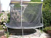 Trampoline 3M 10FT sportspower with safety netting. Disembled ready to collect.