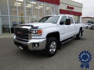 2017 GMC Sierra 3500HD SLE Crew Cab 4X4 Long Box 8' w/17,507 KMs