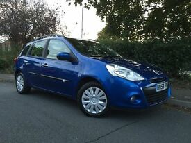 Renault Clio Estate 1.5 Diesel Expression, £30/year road tax