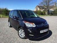 CITROEN C3 PICASSO VTR+ HDI STUNNING MIDNIGHT METALLIC BLUE ONLY 66000 MILES