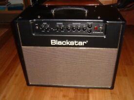 "Blackstar HT20 Studio Venue Valve Amp Combo Mojotone Grillcloth Celestion 70/80 12"" speaker upgrade"