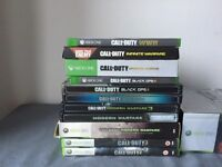 Complete set of Call of Duty
