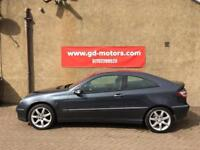 MERCEDES C180 AUTO (08) 1 YEAR MOT, SERVICE HISTORY, WARRANTY NOT GOLF 120d 116 A3 C30