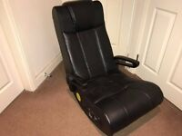 X-Rocker folding gaming chair, NO Leads