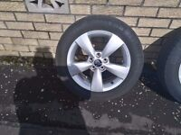 """Fantastic Alloys in incredible condition - 6J 15"""" 5x100 ET38"""