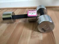 8kg weights dumbbells Lonsdale