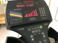 Life Fitness ISOTRACK 9500 hr stepper Cordless and serviced