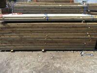 Timber fence rail 88mmx38mmx3.6m