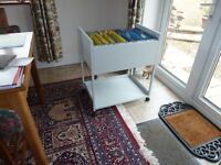 Filing Trolley - mobile - suspension files - office - home - as new