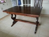 Refectory style table