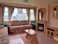 Cheap static caravan holiday home for sale on Hornsea Leisure Park East Yorkshire near Bridlington.