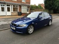BMW 320 D M SPORT 6 SPEED MANUAL 2007 07 REG THREE OWNERS SERVICE HISTORY ALL BOOKLETS GOOD RUNNER