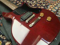Vintage 1989 USA Gibson Les Paul Junior p90 doublecut; hard case; pro setup