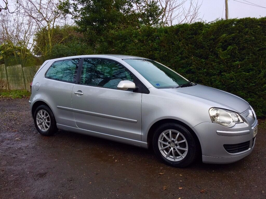 vw polo bluemotion 2 silver 3 dr tdi 1 4l 2008 58 a c fsh mot until jan 2018 0 road tax. Black Bedroom Furniture Sets. Home Design Ideas