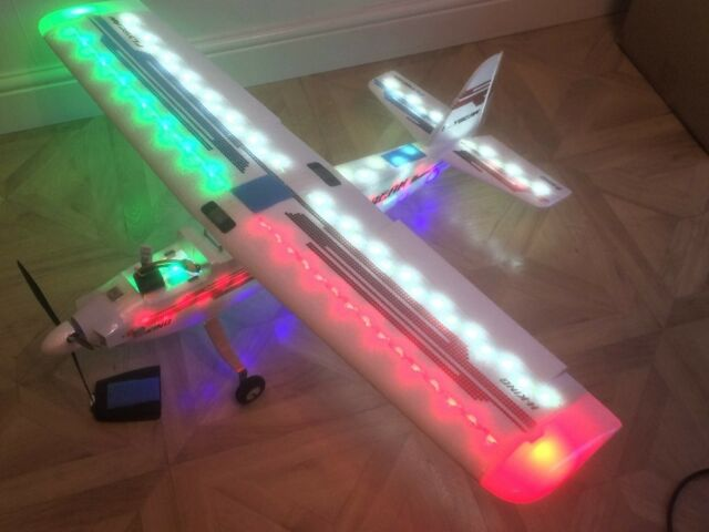 HobbyKing Flybeam RC Plane Night Flyer EPP w/LED System 1092mm (PNF) | in  Chippenham, Wiltshire | Gumtree