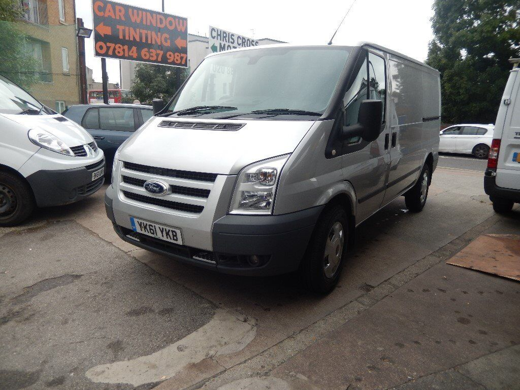 ford transit trend 115 t350 mwb low roof silver 61 plate 2011 full service history air con sat. Black Bedroom Furniture Sets. Home Design Ideas