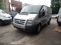 FORD TRANSIT TREND 115 T350 MWB LOW ROOF SILVER 61 PLATE 2011 FULL SERVICE HISTORY AIR CON SAT NAV