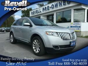 2013 Lincoln MKX AWD  *1-owner  ONLY 24k  Moon  Nav