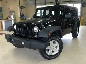 2014 Jeep WRANGLER UNLIMITED SPORT.ATTACHE REMORQUE.2 TOITS.